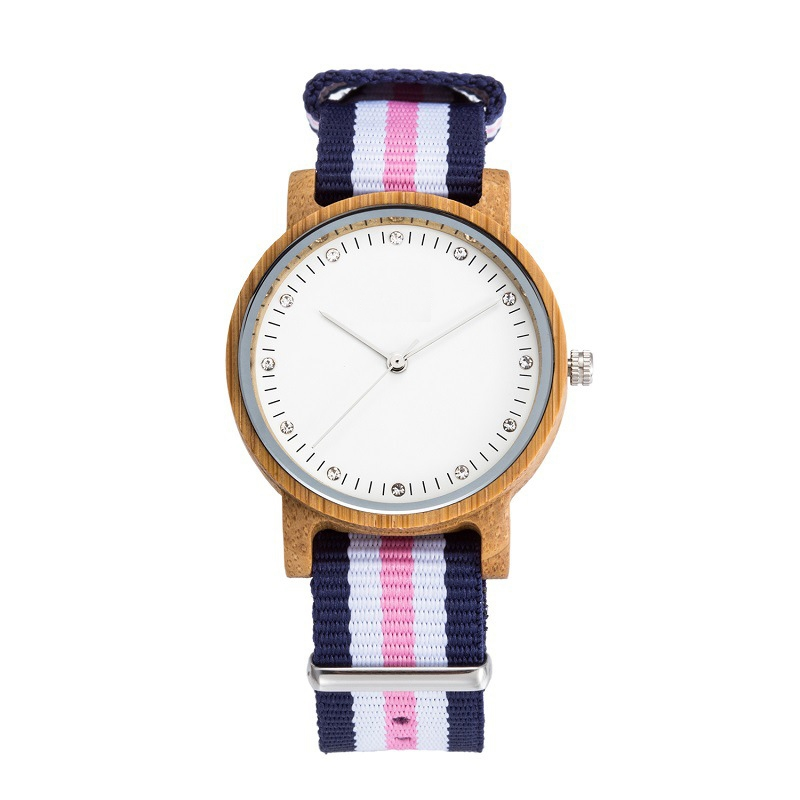 Health Band Watch Chinese OEM Wood Watch Women with Diamond