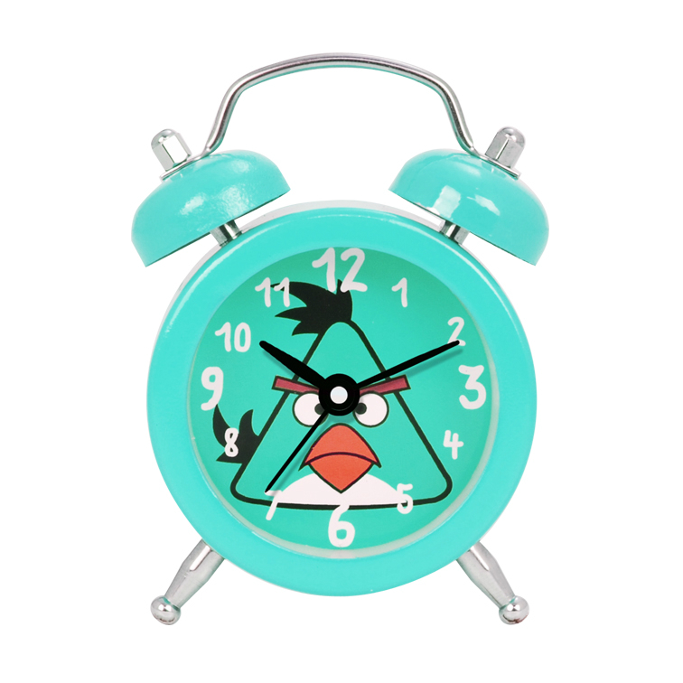 Students Use Silent Twin Bell Alarm Clock Cheap Table Alarm Clock
